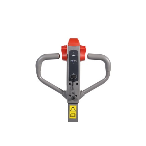 Ameise® PTE 1.1 electric pallet truck – lithium-ion, extra wide for special pallets