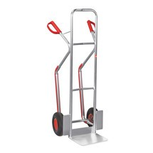 Ameise® sack barrow, aluminium, with skids