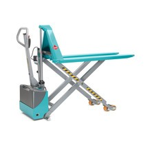 Ameise® scissor lift pallet truck, electro-hydraulic, load capacity up to 1,500 kg