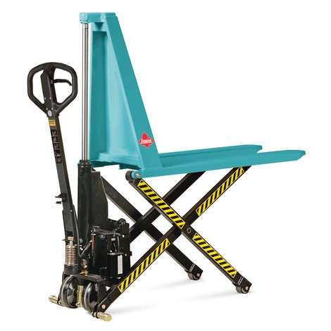 Ameise® scissor lift pallet truck, with electro-hydraulic lift
