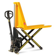 Ameise® scissor lift pallet truck with electro-hydraulic lift