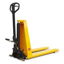 Ameise® scissor lift pallet truck with Premium tiller