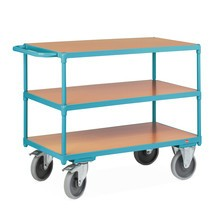 Ameise® table trolley, horizontal handlebar