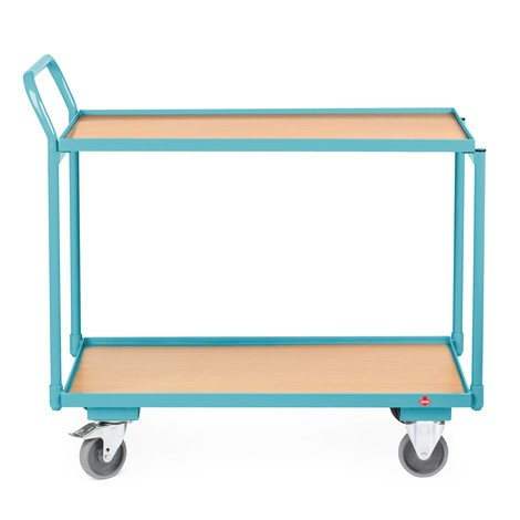Ameise® table trolley, raised handlebar
