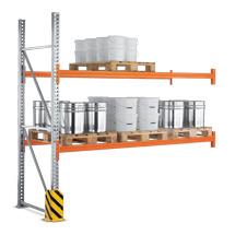 Anbaufelder f. Palettenregal Multipal zur Tiefeneinlagerung, max. 800kg/Palette