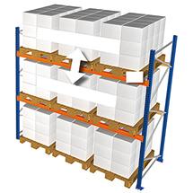Anbaufelder für Palettenregal Typ S, Fachlast bis 5400 kg