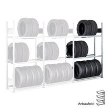 Anbaufelder für Reifenregale für Reifen mit Ø 550 bis 650 mm