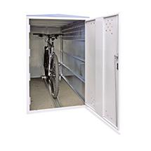 Anbausatz für Fahrradgarage