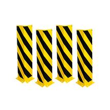 Anfahr-Rammschutz, Winkel-Profil, Höhe 800 mm, gerade