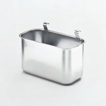Anhängbarer Abfallbehälter für Servierwagen HUPFER®