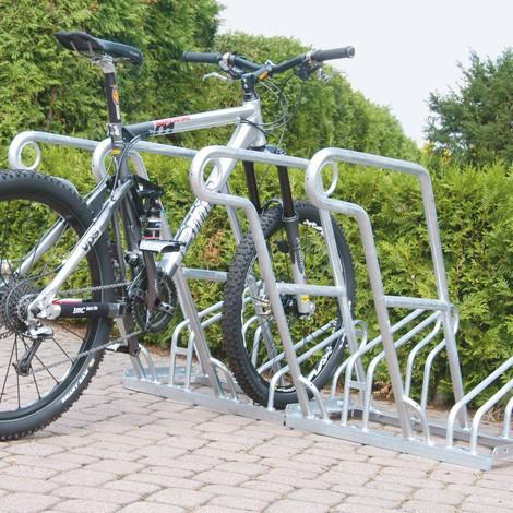 Anlehnbügelparker, 1-seitige Radeinstellung