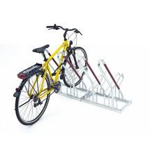 Anlehnparker, 1-seitige Radeinstellung