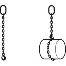 Anschlagkette PFEIFER, einsträngig, mit Aufhängering und Sicherungshaken
