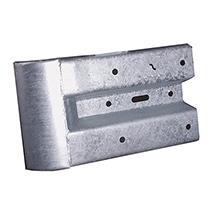 Anschlusskopfstück für Stahlschutzplanke
