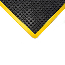 Anti-Ermüdungsfliese, Wahlweise schwarz oder Version safety mit gelbem Rand