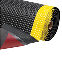 Anti-Ermüdungsmatte mit PVC-Oberfläche. Einzelstücke