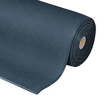 Anti-Ermüdungsmatte, Vinylschaum, Wahlweise schwarz oder schwarz/gelb, 2 Maße zur Auswahl