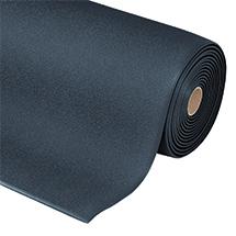 Anti-Ermüdungsmatten aus Vinylschaum mit texturierter Oberfläche. Rollenware