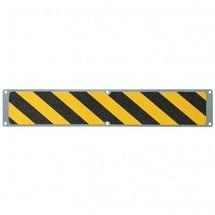 Anti-Rutschplatte, schwarz-gelb