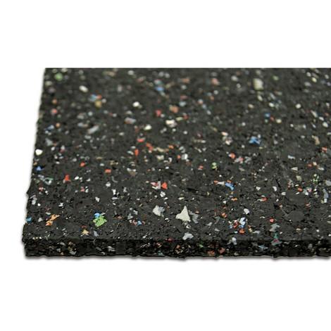 Anti-Vibrationsmatte aus Gummi