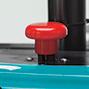 Apiladora eléctrica EPL 210 Ameise® - mástil telescópico, elevación de hasta 3300 mm, capacidad de 1000 kg