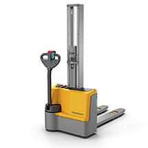 Apiladora eléctrica Jungheinrich EJC M10 E  - mástil simple, altura de elevación de hasta 1900 mm, capacidad de carga de 1000 kg