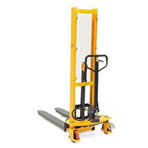 Apiladora hidráulica Ameise® con elevación rápida automática - mástil smple, elevación de hasta 1600 mm, capacidad de 1000 kg