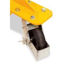 Apiladora hidráulica Ameise® de canal ancho con brazos soporte