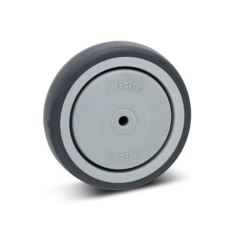 Apparaatwiel voor zwenk- en bokwiel Wicke, glijlager, laat geen strepen achter
