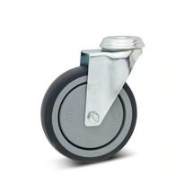 Apparaterolle Wicke TPU, Lenkrolle, Kugellager, Fadenschutz, mit Rückenloch
