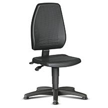 Arbeits-Drehstuhl bimos. Extra hohe Rückenlehne. Sitzhöhe 440 - 620 mm