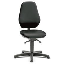 Arbeits-Drehstuhl bimos. Extra hohe Rückenlehne. Sitzhöhe 460 - 640 mm.