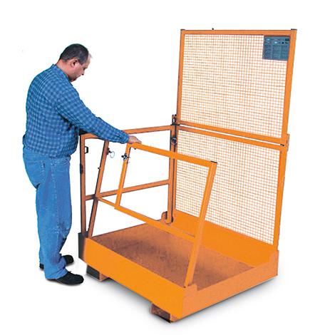 Arbeitsbühne, Ausführung zur Verwendung in Deutschland, faltbar, zul. Gesamtgewicht 300kg