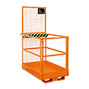 Arbeitsbühne, Ausführung zur Verwendung in Deutschland, längs, zul. Gesamtgewicht 300 kg