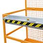 Arbeitsbühne, Ausführung zur Verwendung in Deutschland, zul. Gesamtgewicht 300kg, breit