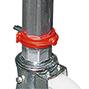 Arbeitsgerüst HYMER erweiterbar bis 6,10 m Gerüsthöhe