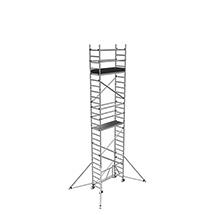 Arbeitsgerüst ZARGES Compact zum Zusammenklappen. Bis 8,50 m Standhöhe