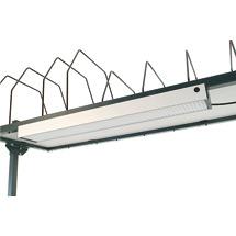 Arbeitsplatzbeleuchtung, HxBxT 60x900x135mm