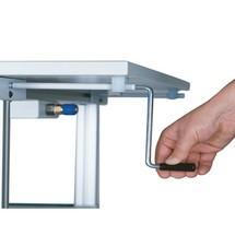 Arbeitsplatzsystem-Set, 2-teilig, elektrische Höhenverstellung