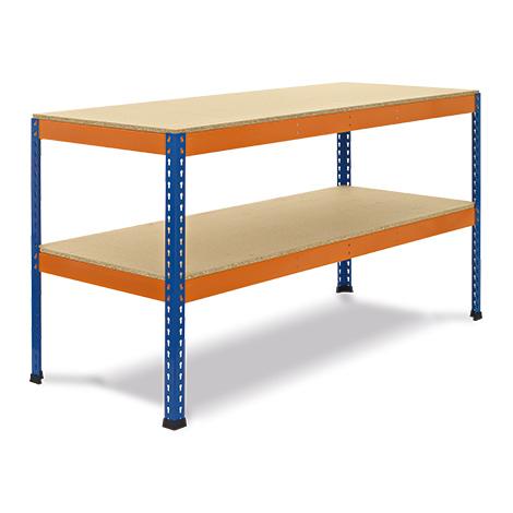 Arbeitstisch mit 2 Ebenen