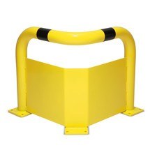 Arceau de protection de coin avec protection anti-encastrement, pour l'intérieur
