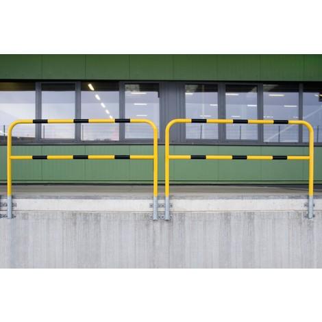 Arco de proteção, área exterior, fixação lateral, removível