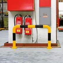 Arco de proteção contra colisão para utilização em espaços interiores, 76mm de diâmetro