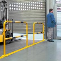 Arco de proteção para utilização em espaços interiores
