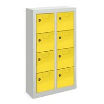 Armoire à petits compartiments PAVOY, 8compartiments, HxlxP 815x460x200mm, avec porte-étiquettes