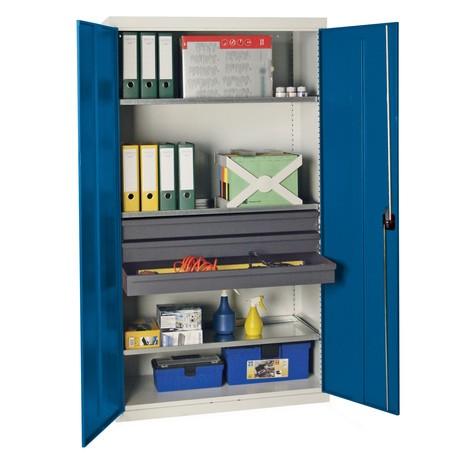 Armoire à portes battantes d atelier stumpf® avec tiroirs ... c82c806be2e5