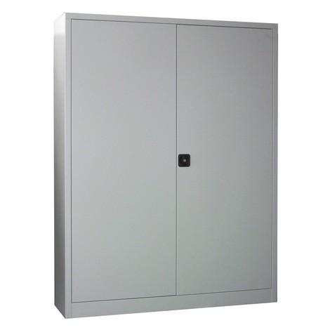Armoire à portes battantes PAVOY, 4tablettes, HxlxP 1950 x 1200 x 600mm