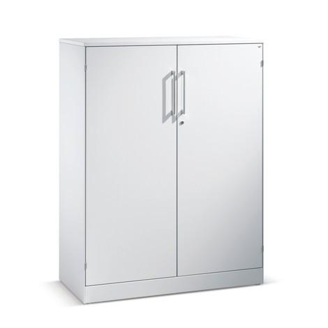 Armoire à portes coulissantes C+P Asisto, 5hauteurs de classeur, largeur 1000mm