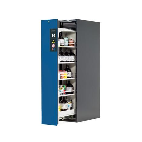 Armoire à tiroir vertical asecos® V-MOVE-90