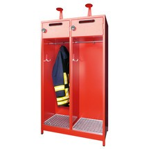 Armoire incendie PAVOY avec compensation de niveau + cadre porte-étiquette